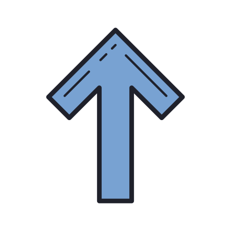 Thick Arrow Pointing Up icon