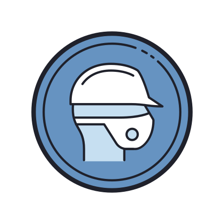 Wear Half Mask Respirator icon