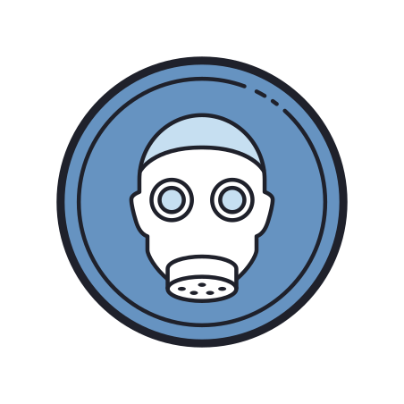 Wear Respirator icon