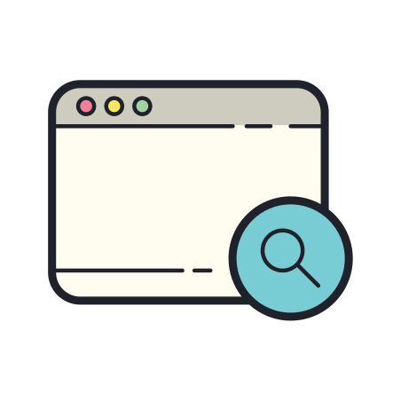 Window Search icon