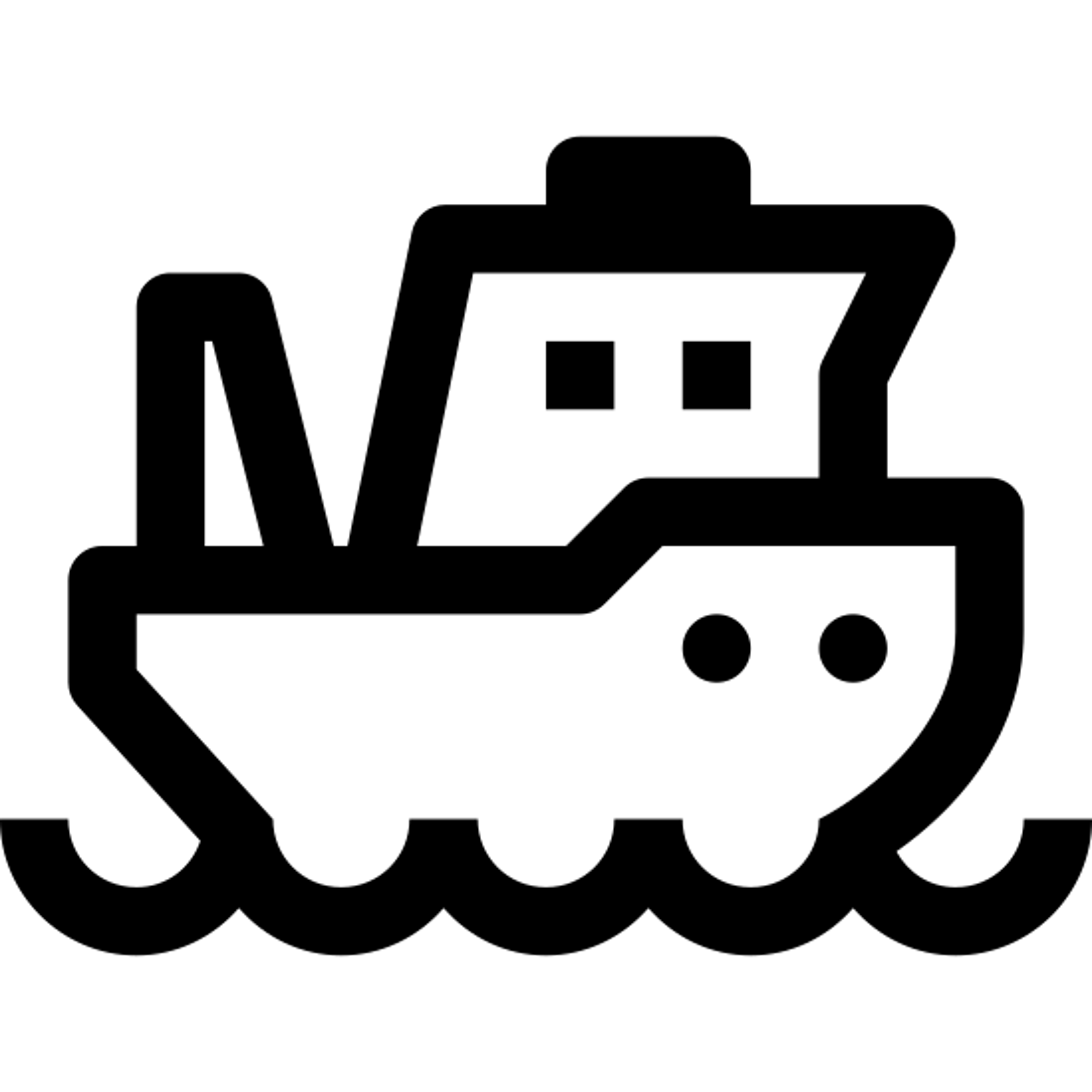 Łódź rybacka icon