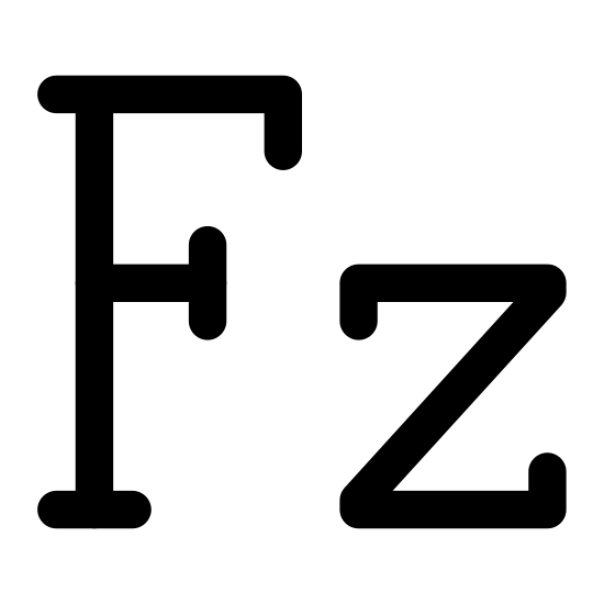 Frequency Fz icon