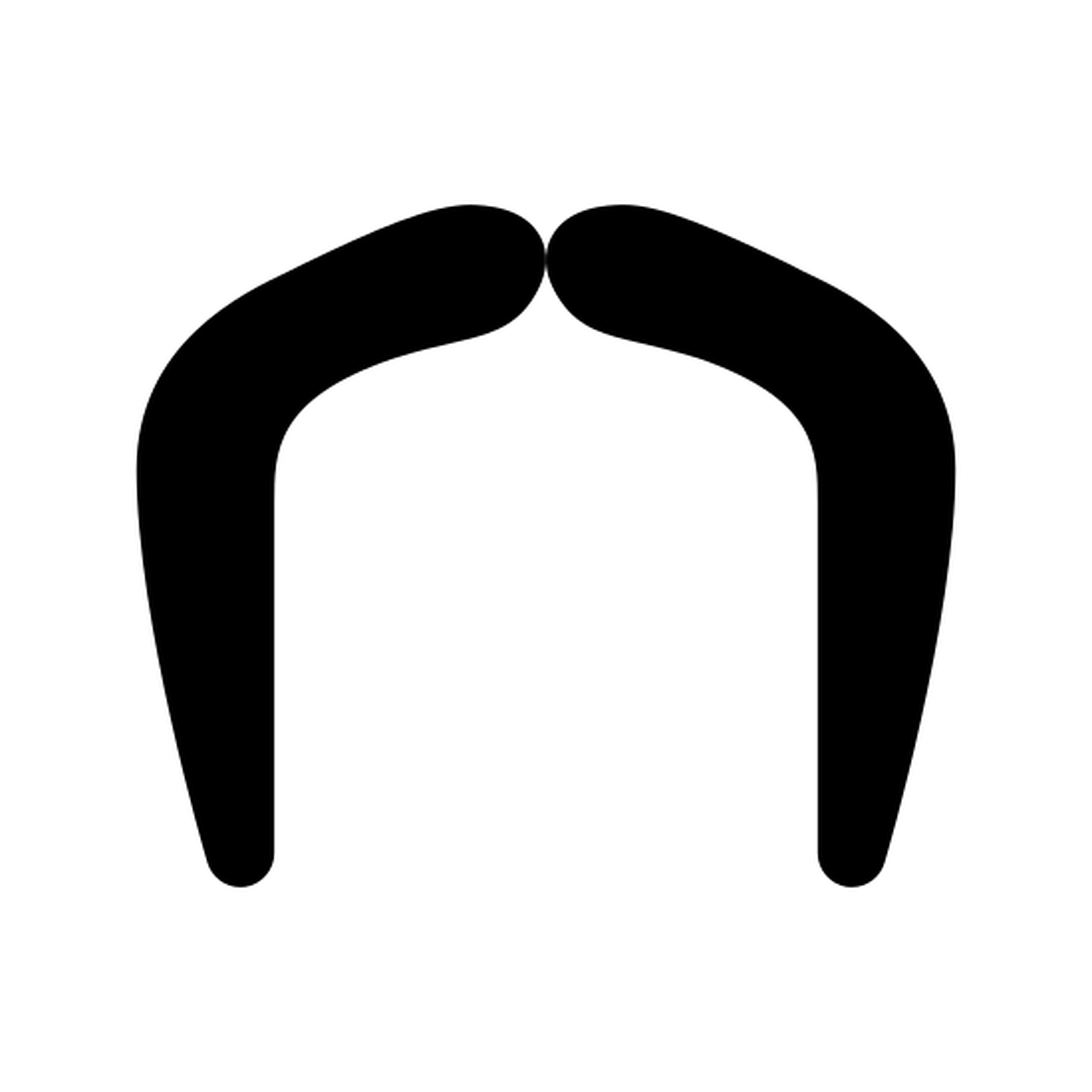 Fu Manchu Mustache icon