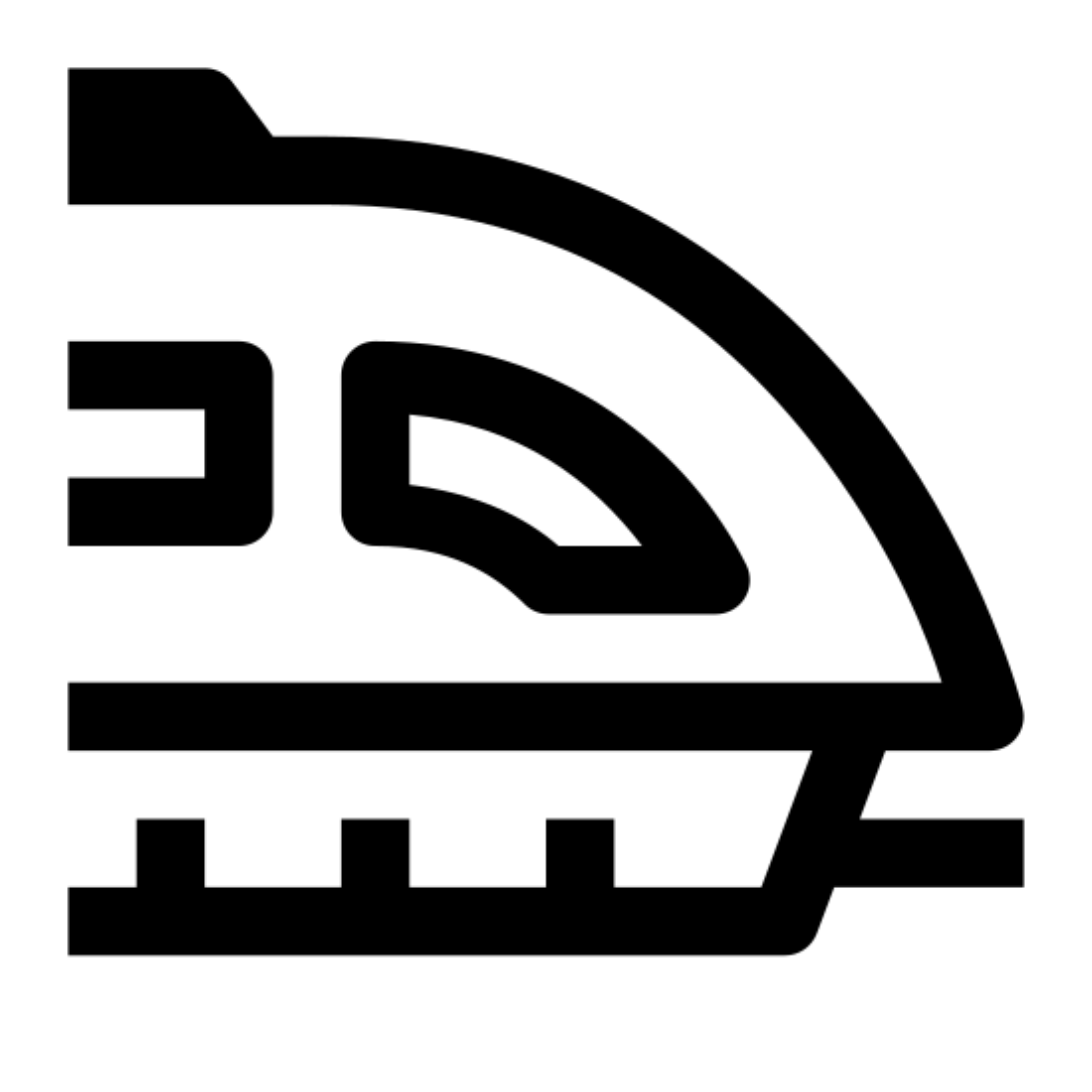 pojazd typu Maglev icon