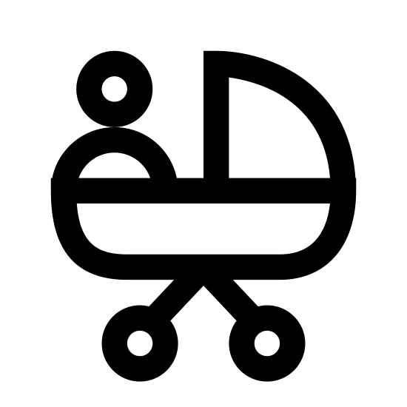 Poussette icon
