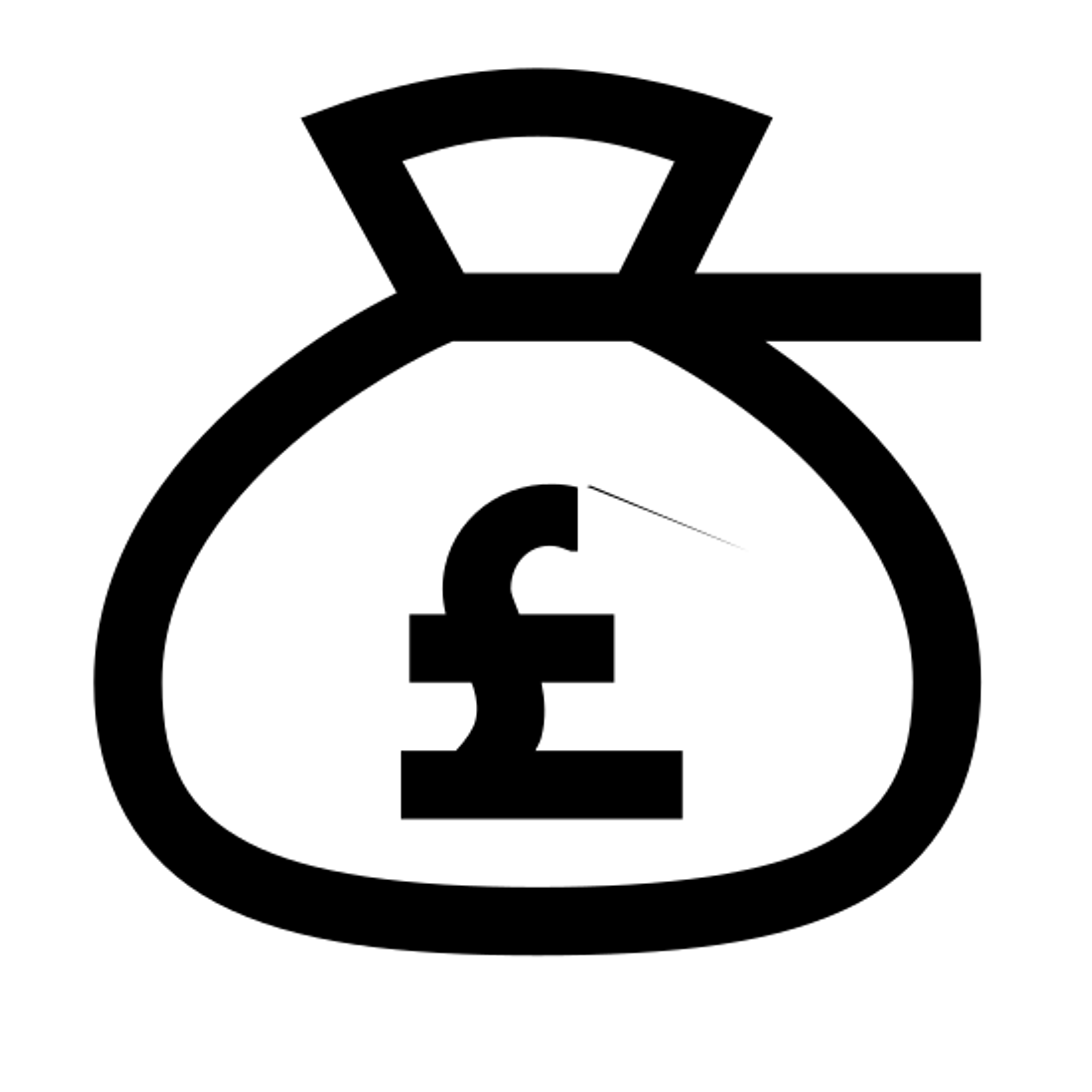 Bolsa de dinero de libras icon