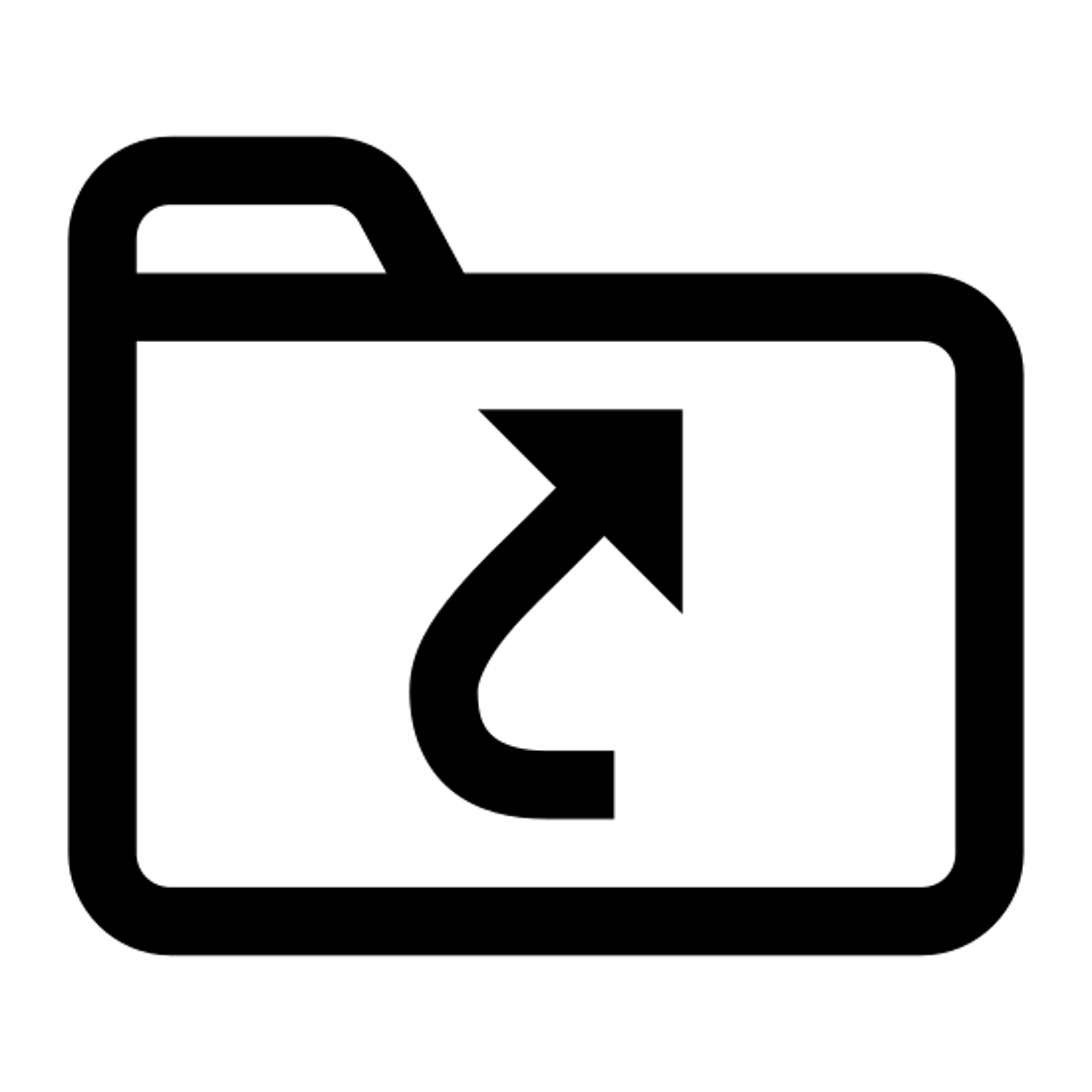katalog Symlink icon