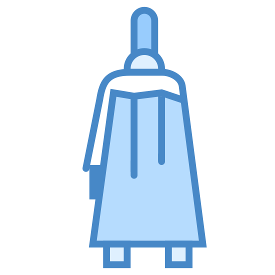 Torba Widok z boku icon. This is a tall trapezoid. There is a Y shape on the inside of the trapezoid, near the top. There's a line hovering above the trapezoid. There's two small squares at the bottom of the trapezoid.