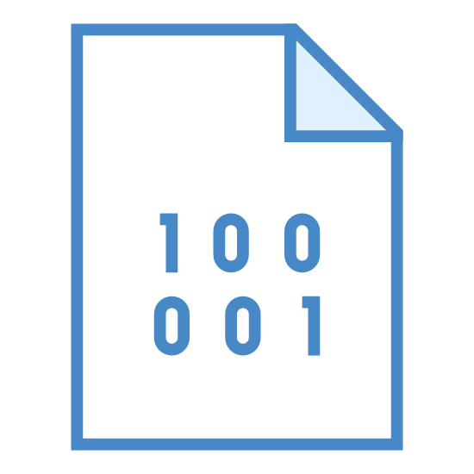 Plik Binarny icon