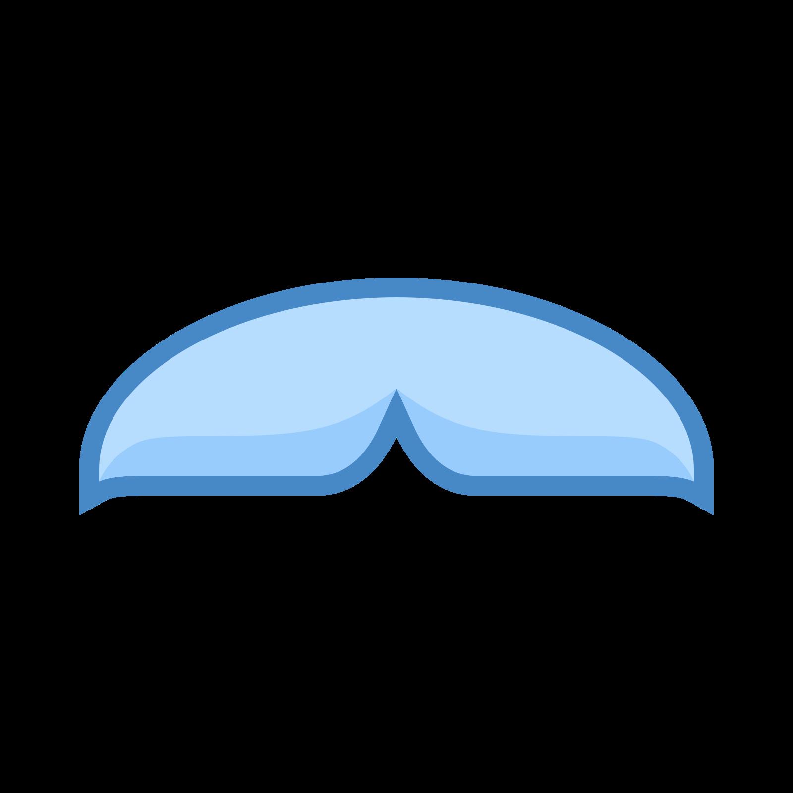 Chevron Mustache icon