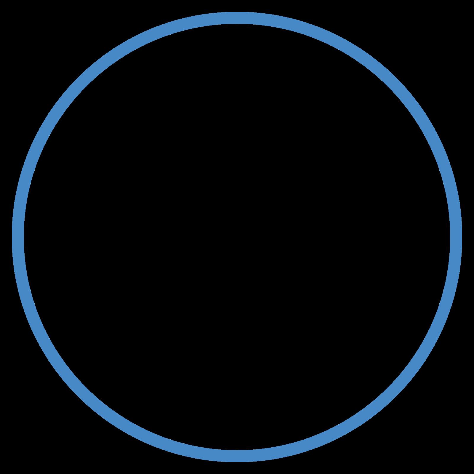 細い線の丸で囲まれた icon
