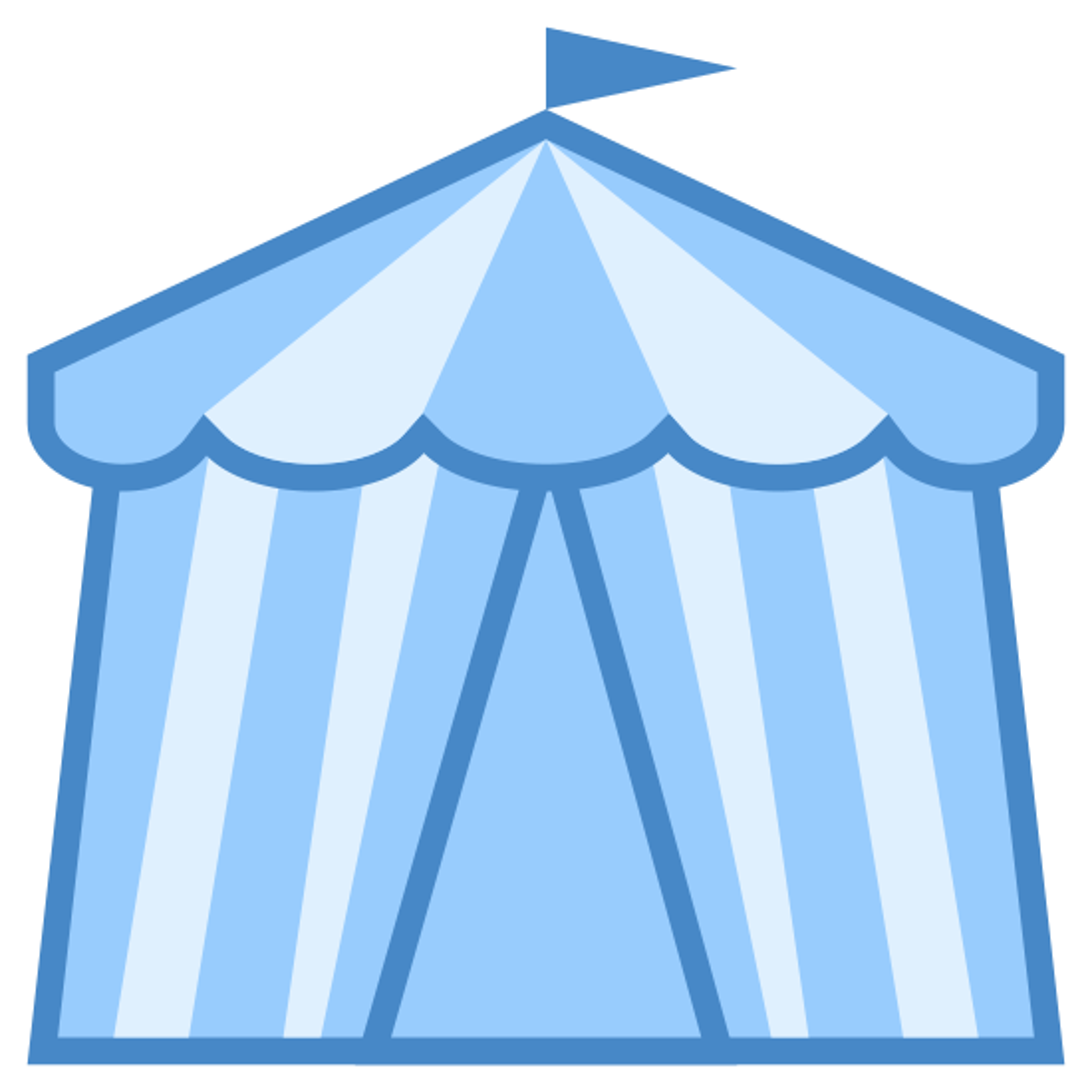 Namiot cyrkowy icon
