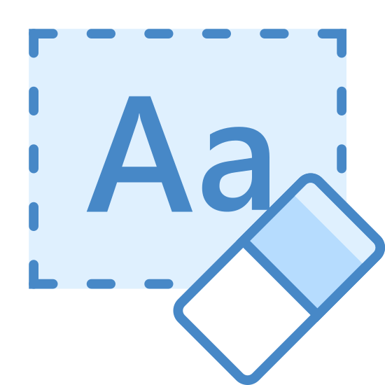 Clear Formatting icon