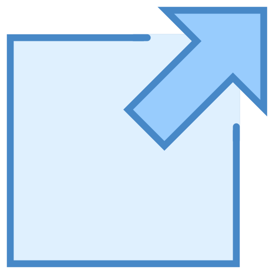 Zewnętrzny odnośnik icon. The icon is of an external link, made up of an arrow pointing out of the upper right corner of an unfinished box. This symbolizes linking to a resource not found within the present document.