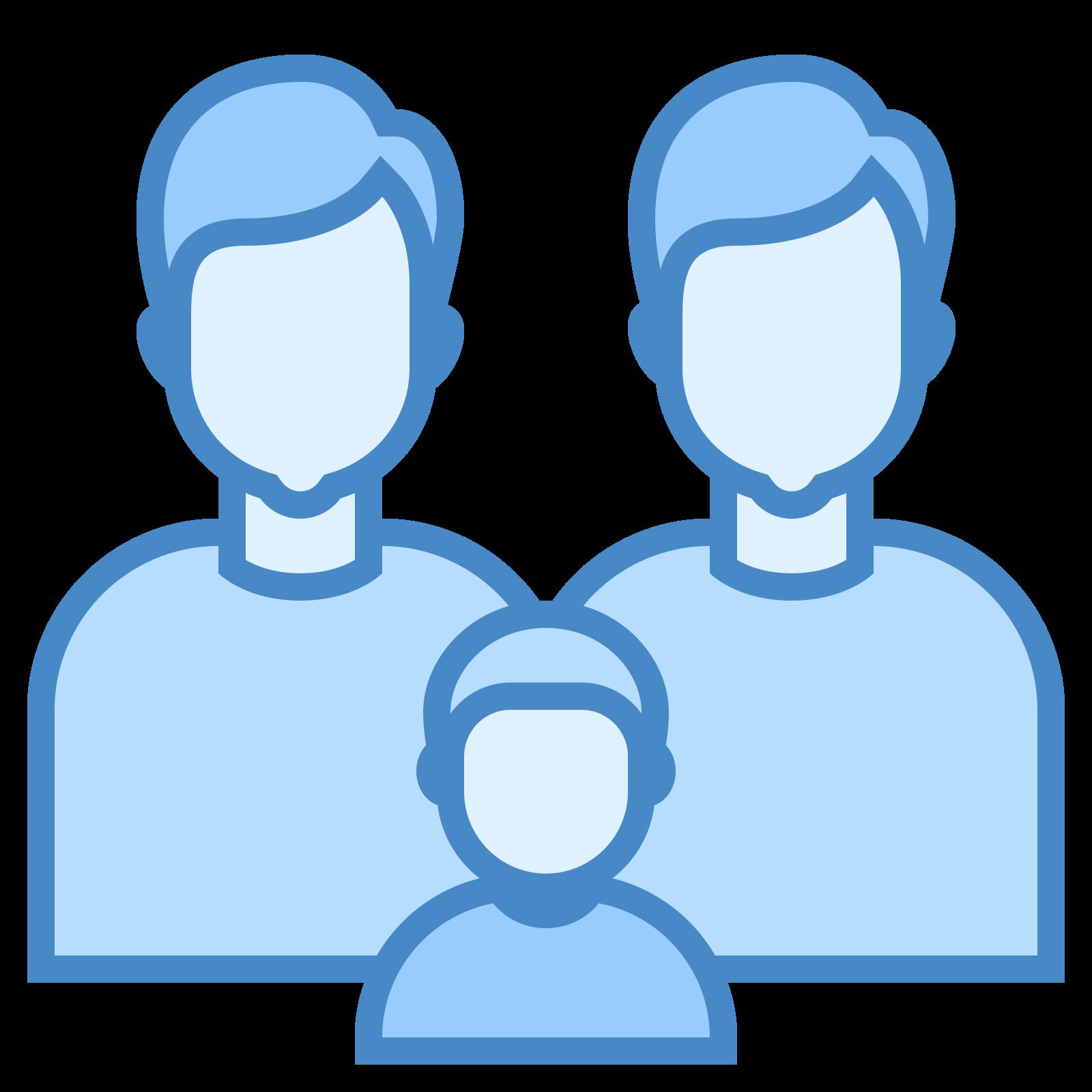 Rodzina – dwóch mężczyzn icon
