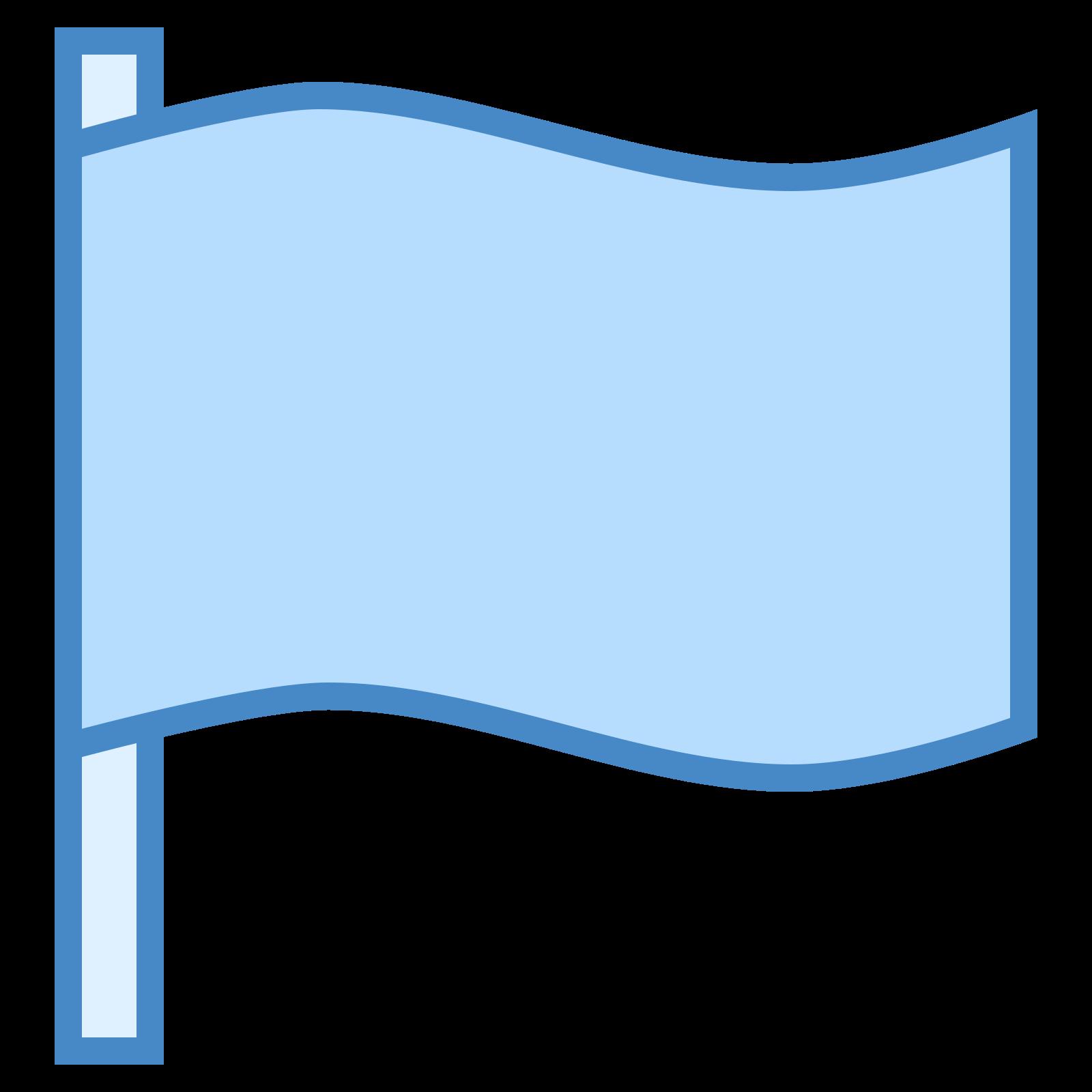 塗りつぶされた旗2 icon