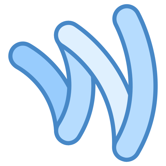 Portfel Google icon. It's a logo of Google Wallet reduced to a W. The W is intricately designed with one side being smaller than the other. Google Wallet can be used as an online payment system.