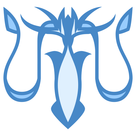 Greyjoy House icon. This logo features an animal head that appears to sit on a mantle. The animal has horns and a face that looks like a distorted moose.