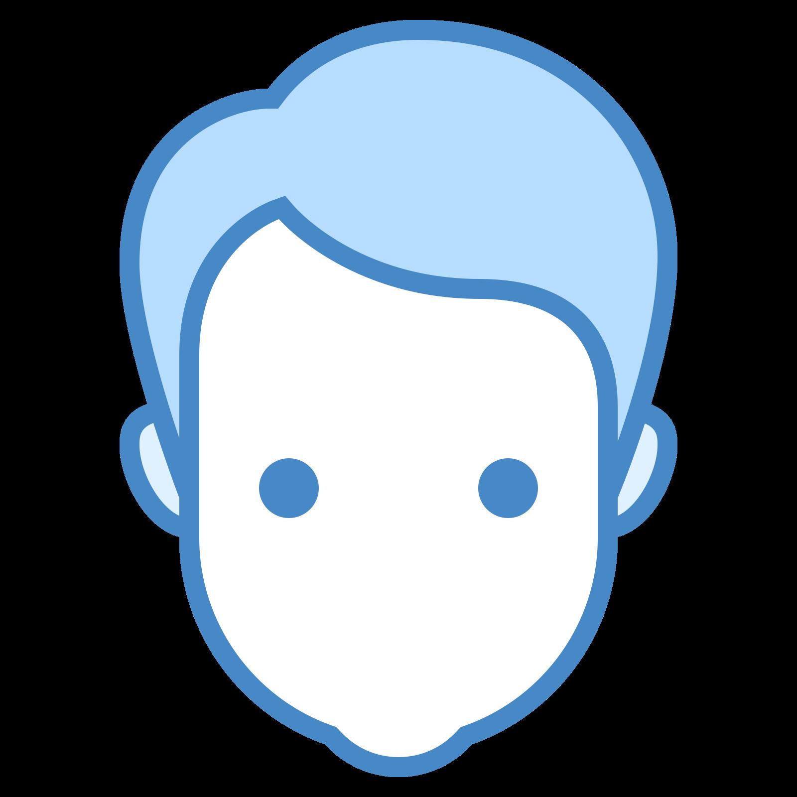 人的头部 icon