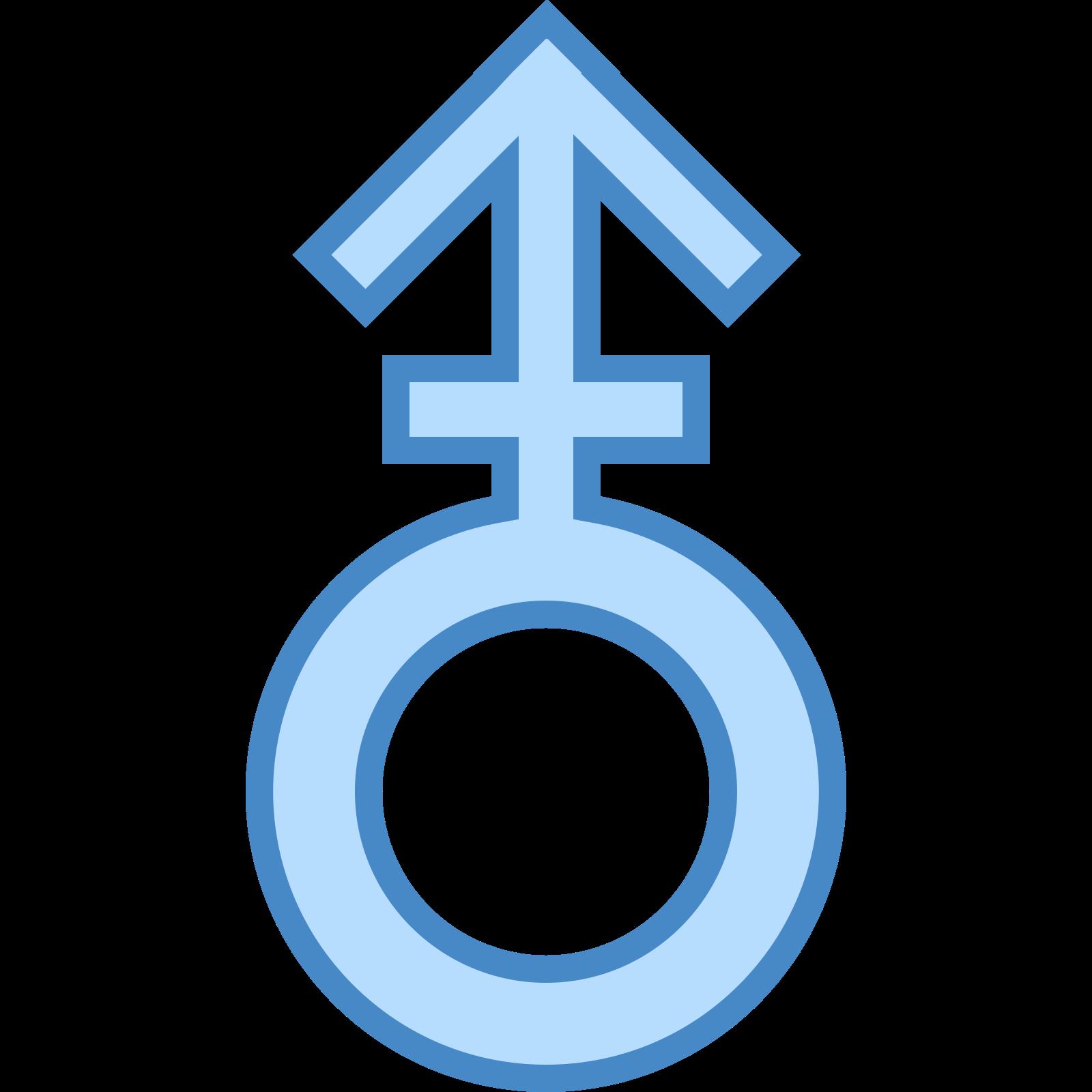 Male Stroke V icon