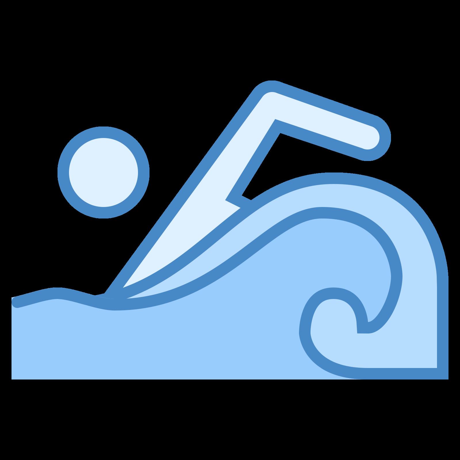Maraton pływanie icon