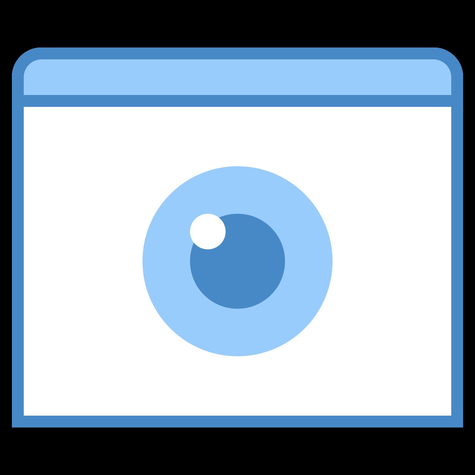 Mark View As Non Hidden icon
