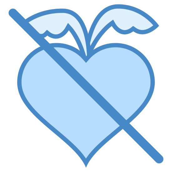 Ohne Fruktose icon. The icon is a picture for the logo of No Fructose. The icon shows what appears to be a radish shaped object. The icon has two leaves extending from the top of the radish shaped object. There is a slash through the entire icon.