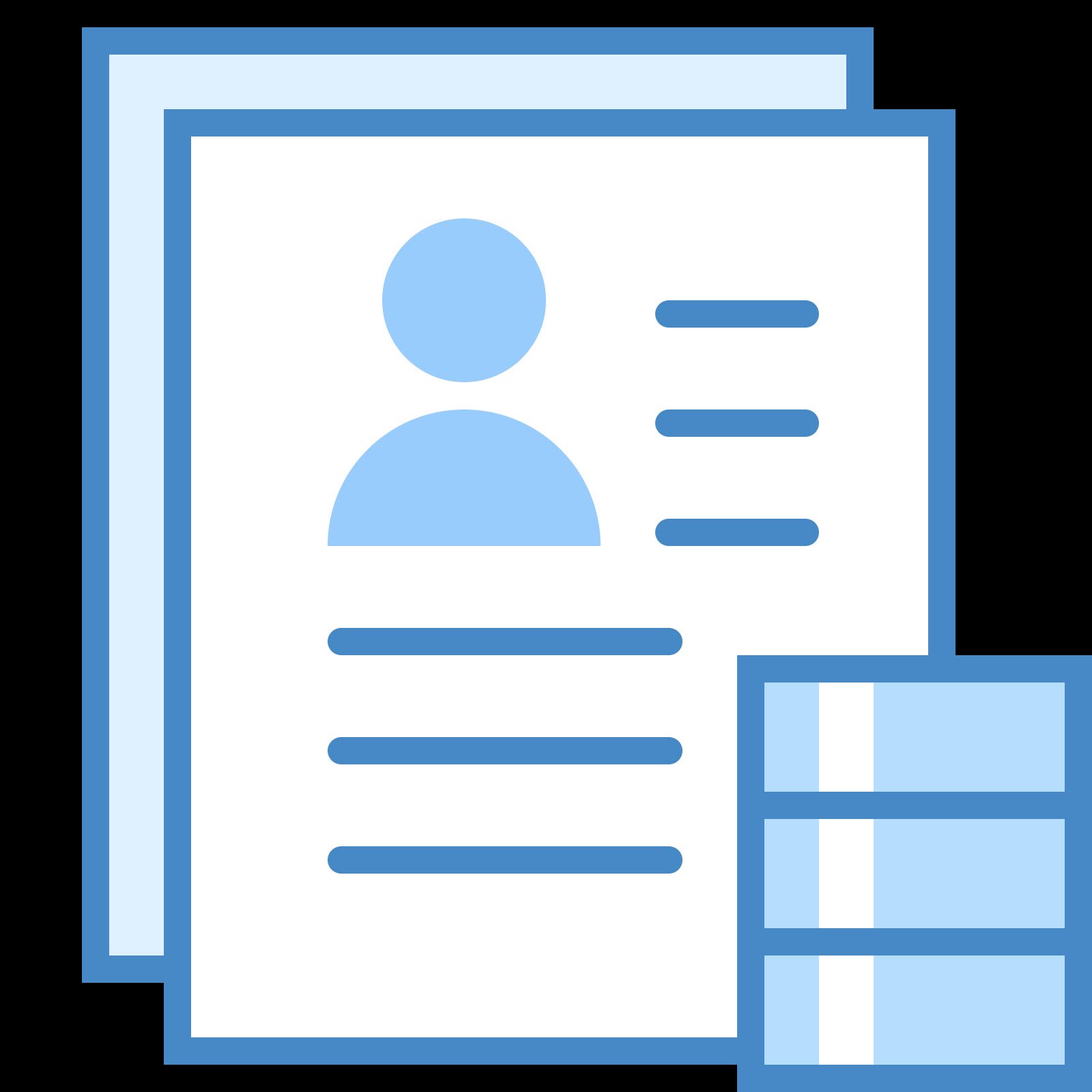 Przetwarzaj CV icon