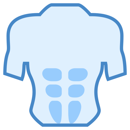 Prelum icon. This is a photo of what looks to be the inside of a males upper body. There is no head or lower body shown. It appears to be emphasizing the intestinal tract.