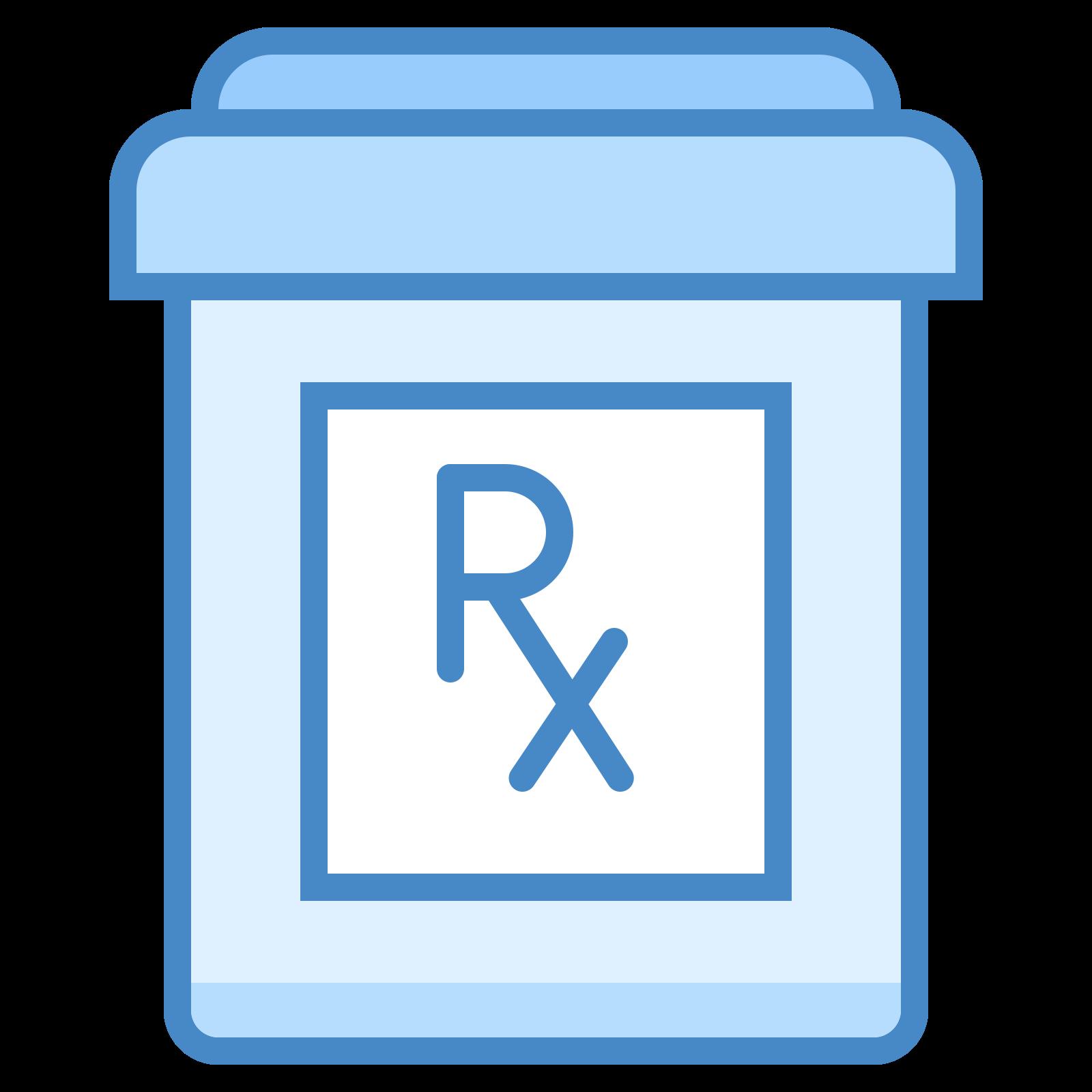 Butelka z lekami na receptę icon