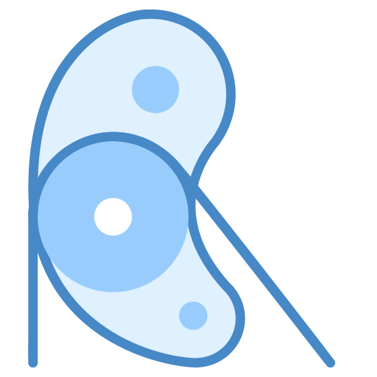 Pulley icon. The icon is a simple depiction of a pulley. A main body with two mounting holes holds a low-friction wheel on an axis, across which a string is strung. The string then drops to the bottom of the image, truncated by the icon's boundaries.