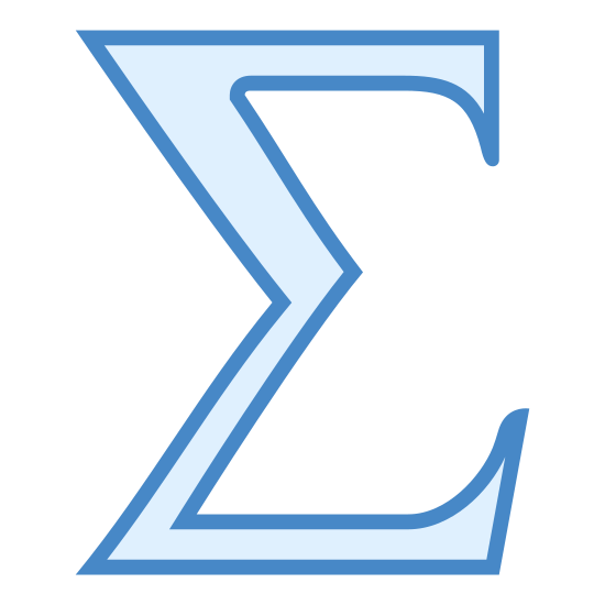 Sigma icon. The logo for Sigma pretty much looks like the letter E. The symbol has a deep bent in the middle towards the right and the middle ledge doesn't protrude as much as the top and bottom ledge.