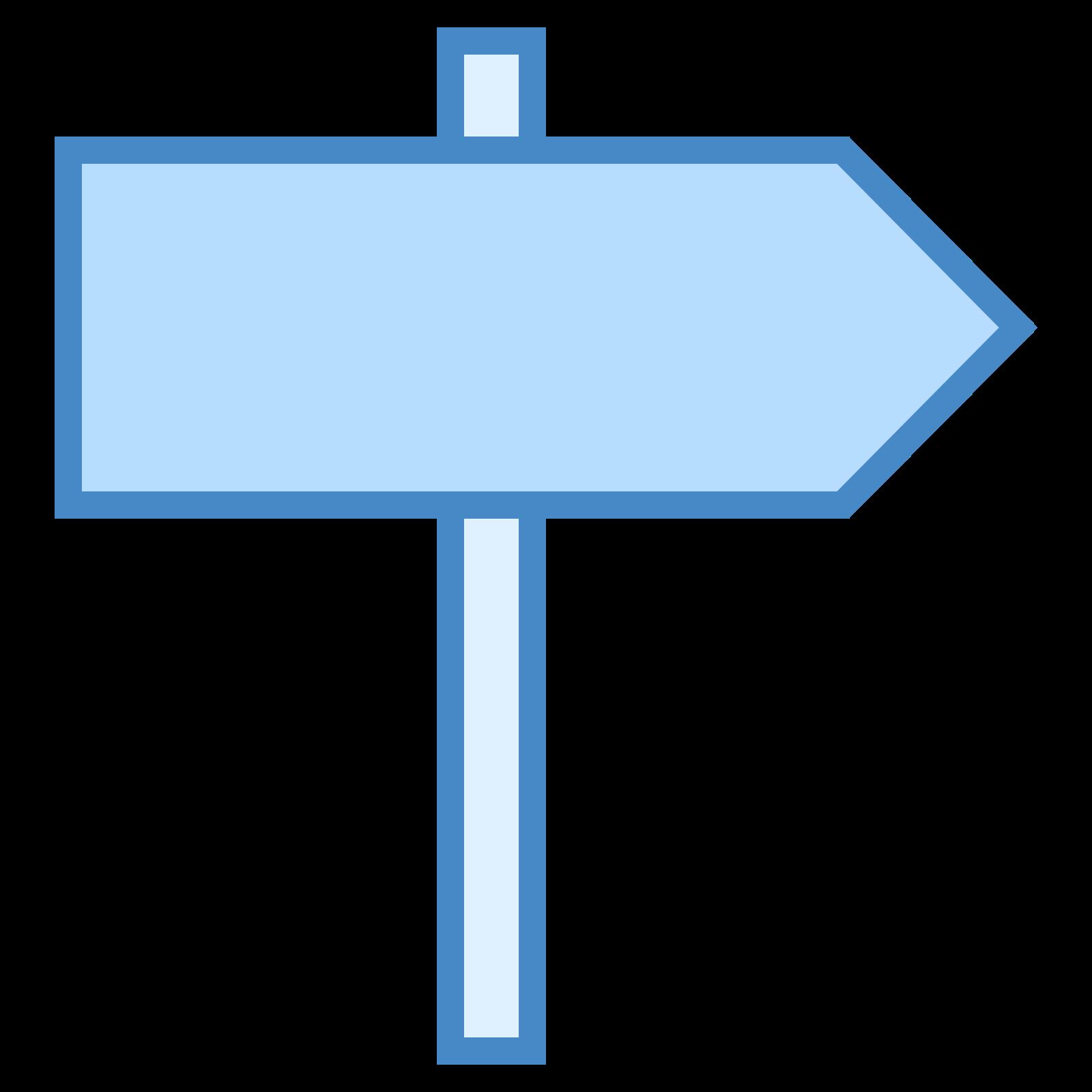 Signpost icon