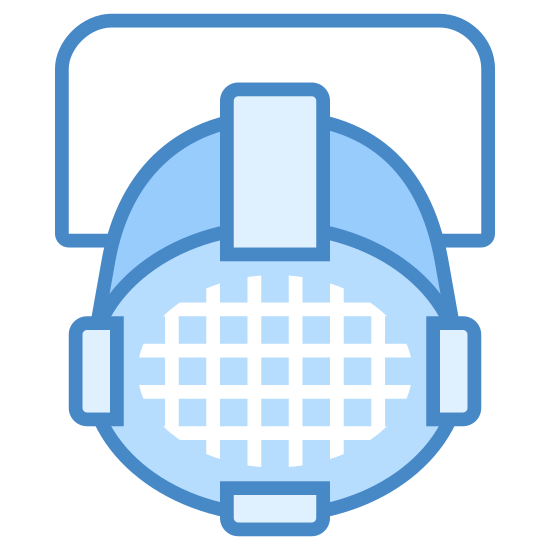 Source Four Par icon. It's a logo for Source Four Par that looks like a microphone on a business card. It's a cylinder protruding from a rectangle, the cylinder's surface has a squared net over it.