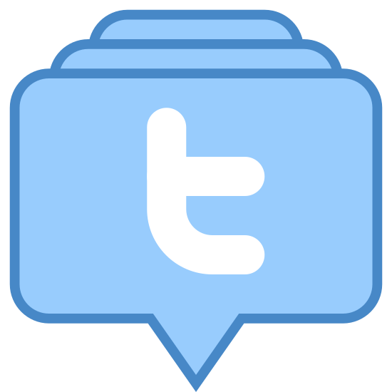 Stack of Tweets icon