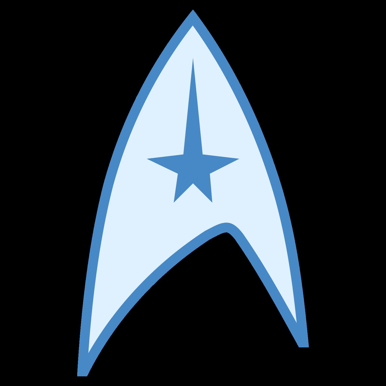 Symbol Star Trek icon