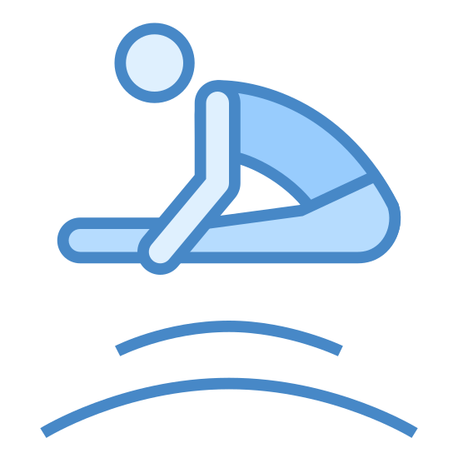Gimnasia en trampolín icon