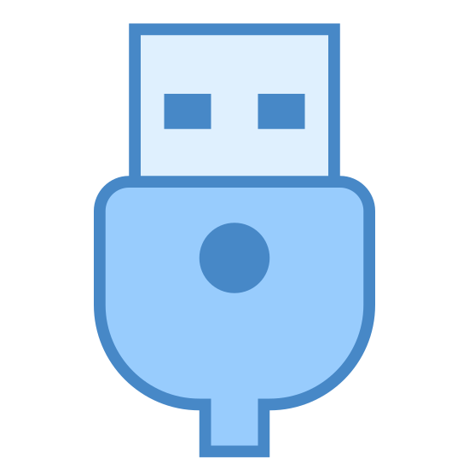 USB nieaktywne icon