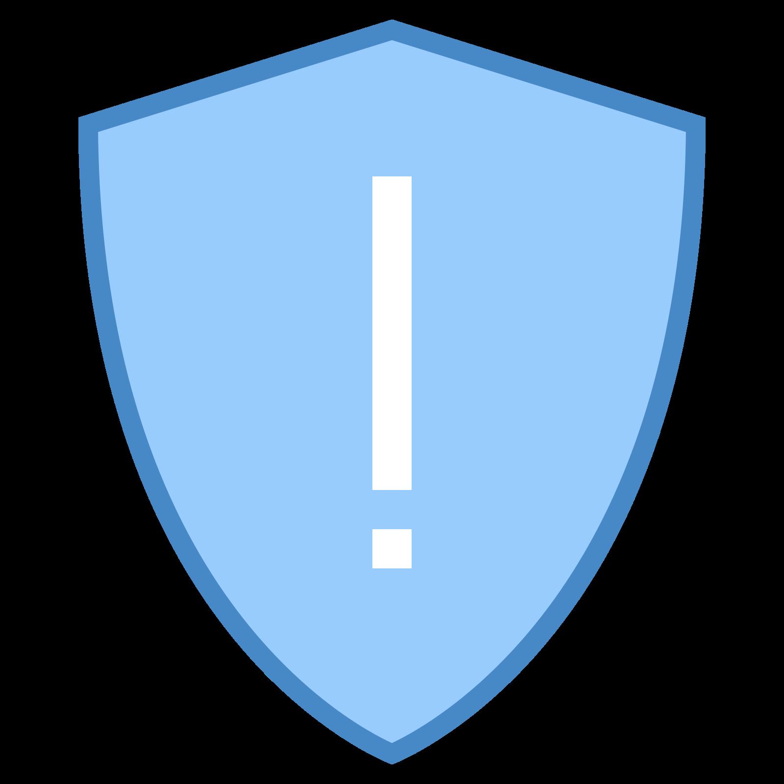Warning Shield icon