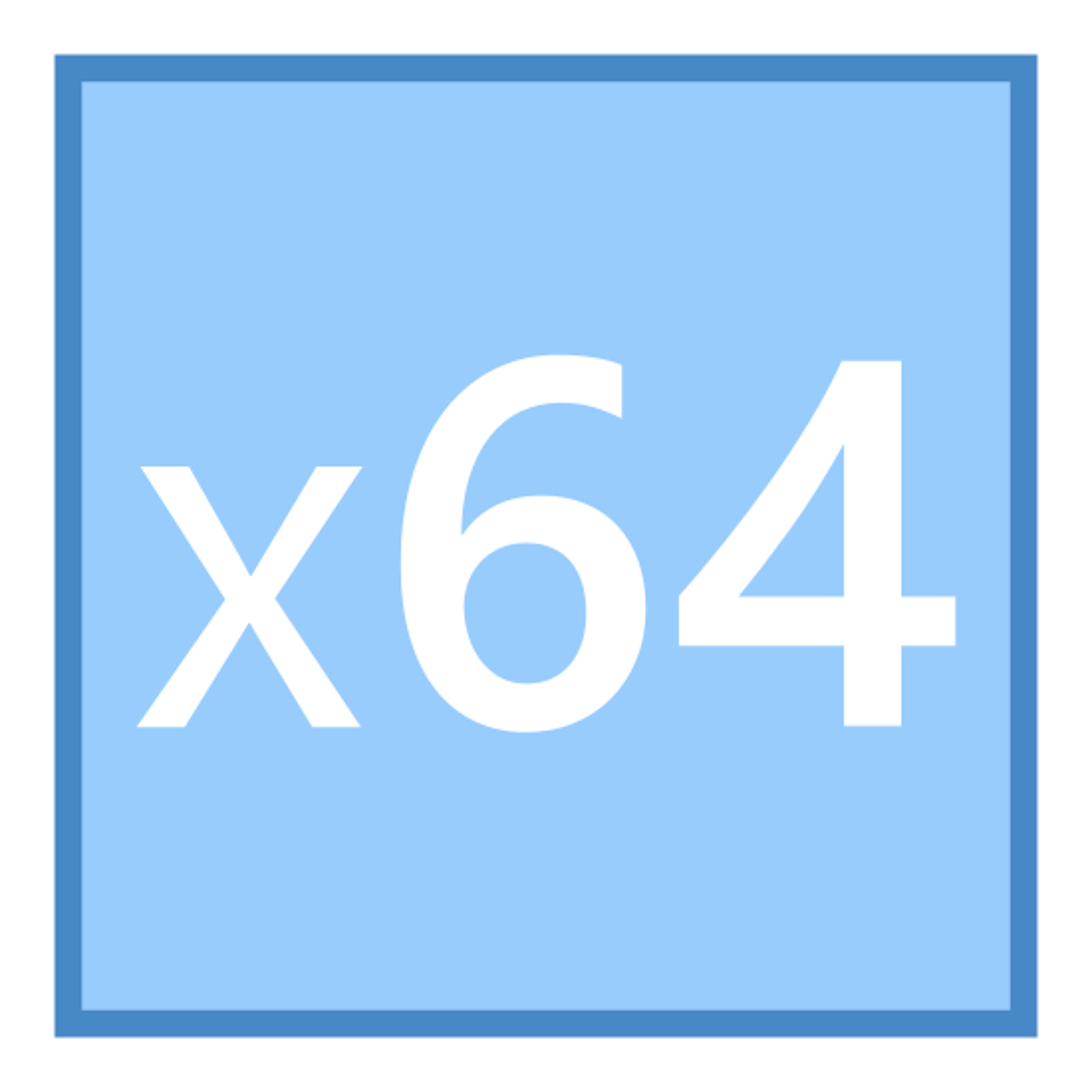 X64 icon