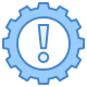 UI azul icon
