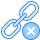 Excluir link icon