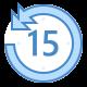 skip 15-seconds-back icon