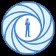 파란색 UI icon