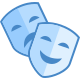 Comedy Drama Mask icon