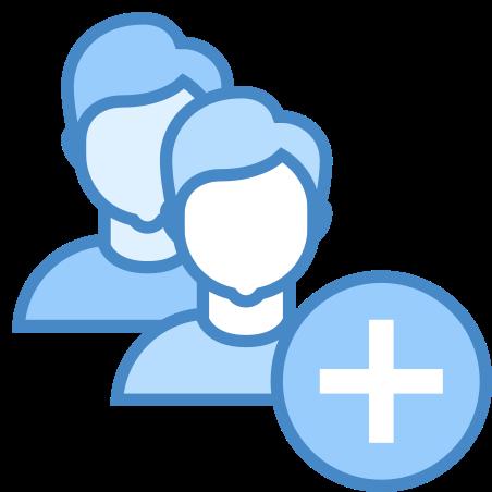 사용자 그룹 남자 추가 icon