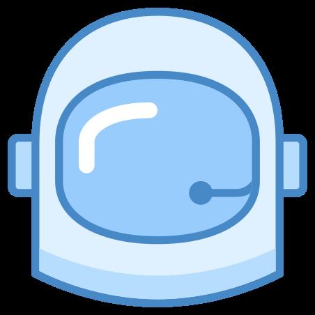우주 비행사 헬멧 icon