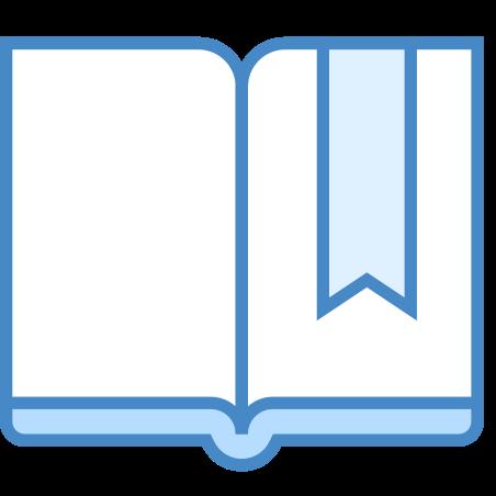 Bookmark icon in Blue UI