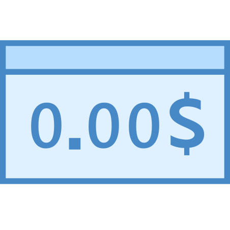 Bounced Check icon in Blue UI