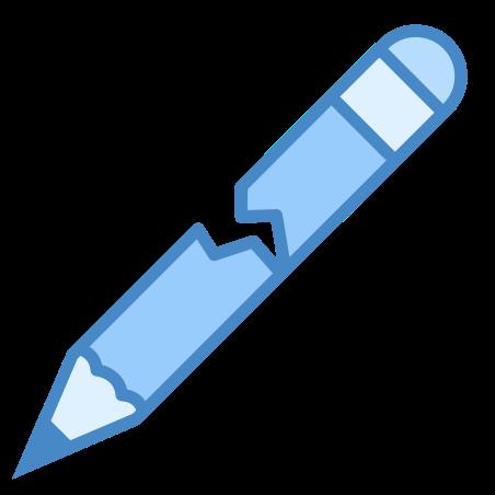 Broken Pencil icon